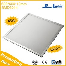 45W 3600lm UL CE TUV Approved 600x600 Led Ceiling Panel Light