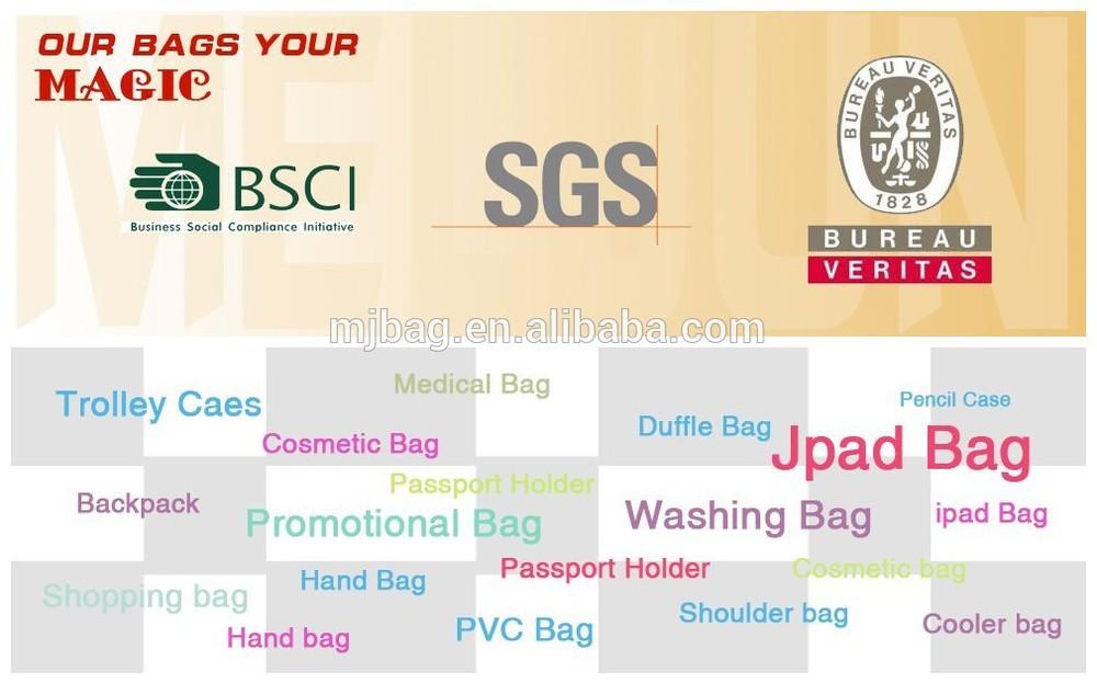 2015 hot sale blue unique design document bag