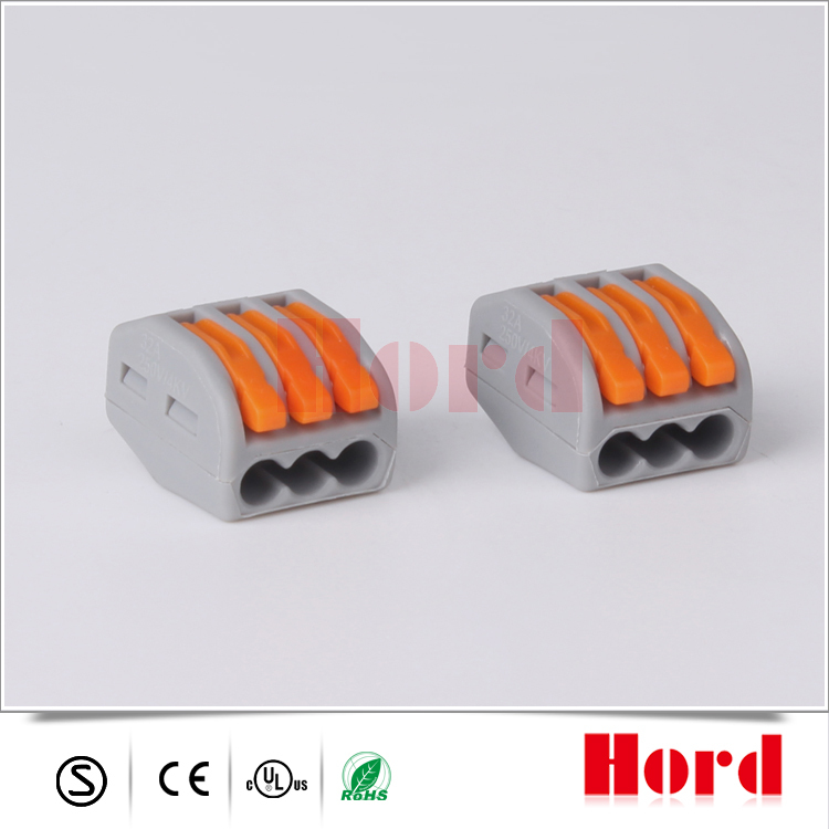 Equivalent Wago 222 413 Series Push In Wire Connector