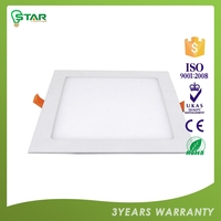 Quick Lead Oem Ce ,Rohs Certified 6W Glass Led Panel Light