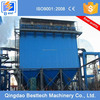 Induction furnace dust collector, fume extraction system