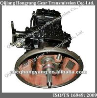 Sinotruck CNHTC Howo North Benz Mercedes Benz XCMG ZF 5S-150GP Hand transmission gearbox complete box (2159021043B)