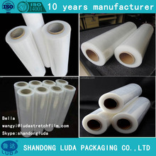 lldpe stretch film/ wrapping film roll/wrapping plastic roll pe film from alibaba supplier