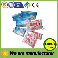 baby wet wipes for little young kids cleaning up/alcohol free/hypoallergenic/cutomerized scented/spunlace nonwoven/OEM welcomed