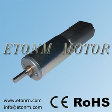 16mm de alta precisión del motor de engranajes planetarios 24V