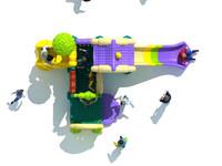 2015 baby cheap plastic sports&entertainment playground equipment