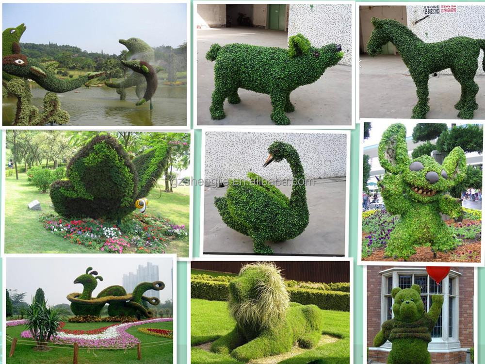 Y04 nouveaux produits moss couvert artificielle topiaires for Plante decorative exterieure