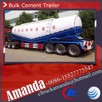 China cheap 3 axle used bulk cement trailers for sale 60m3 used cement trailer