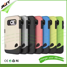 2015 hot sale 2 in 1 mix colors shockproof armor phone case for iphone 6 6s, for iphone wholesale cell phone case