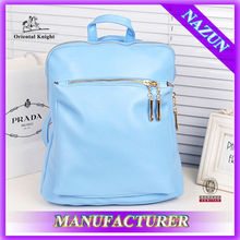China Supplier Ladies Cheap Custom Wholesale Backpacks PU Leather