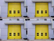 interior fashion pu foam useful foam steel wooden grain garage door