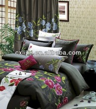 The family of four sets 100% polyested making for bed cover by chinese suplier