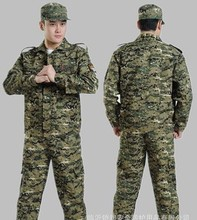 reactive camouflage/military cotton uniform