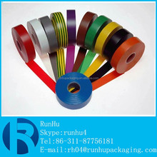 low price nail velcro round bopp packing non adhesive pvc tape