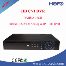 16 canales HD 1080P hybird CVI <span class=keywords><strong>DVR</strong></span>, Dahua <span class=keywords><strong>DVR</strong></span> para la cámara de circuito cerrado de televisión Dahua
