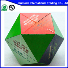 Promotional Plastic Magic Cubes, Customized magic cubes, Folding magic puzzle cube