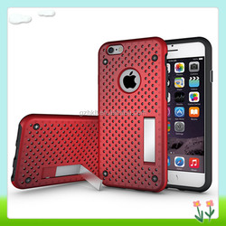 Heat Radiation Protective Mesh Phone Case For iPhone 6 Mobile Case Accessory