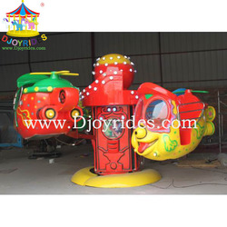 rotation kiddie rides kiddie rides china 8 seats rotary big eyes airplane for sale