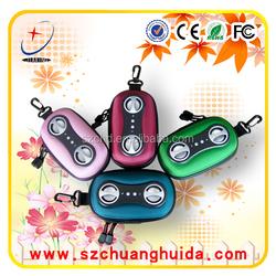 mini portable speaker bag for ipod/iphone/mp3/4/CD