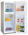 130L Doble pequeño refrigerador puerta