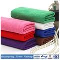 China altamente adsorção de água toalha de microfibra de algodão grosso toalha, yoga toalha de microfibra
