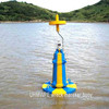 2.4meter yellow blue Emergency wreck marker buoy(IALA CCS,ISO,BV)