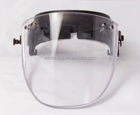 Demining visor for Pasgt,Mich and Fast ballistic helmet