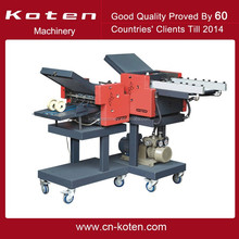 Paper Folding Machine With Cross Fold to Make Booklet.