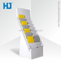 ZSJ-a378 Cardboard Stand Up Display,Cardboard Greeting Card Holders,Cardboard Magazine Dispaly