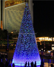 New design giant 20 meters christmas tree with transparent ball