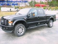 New 2010 Ford F250 With 4x4 Crew Cab Super Duty