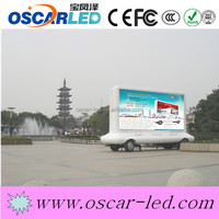 truck mobile advertising led display 12v led car message moving scrolling sign display led pannel p6 led moving message diaplay