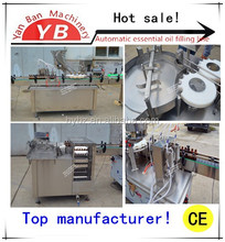 Shanghai factory Good price of 10ml , 20 ml , 30ml , 50 ml Automatic essential oil Filling and Sealing Machine line