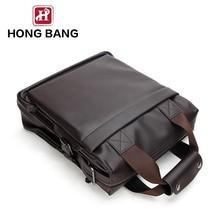 custom pu leather men bags handbags made in china