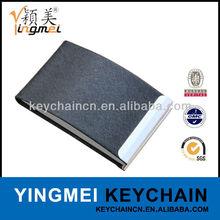 Guangzhou supplier metal aluminium leather namecard holder