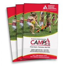 professional printer high quality full color perfect bound catalog brochure printing