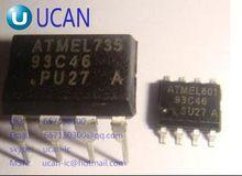 Erasable programmable read-only memory AT93C46E-PU DIP8 93C46 (100PCS)