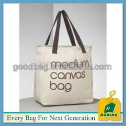 cotton canvas craft tote clutch bags for rice package