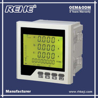 Free Sample Available Digital Panel Three Phase Digital Multimeter with RS-485 RH-3FHD6Y