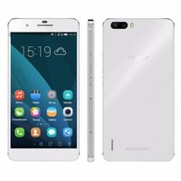 Dual SIM White Huawei Honor 6 Plus PE-TL10 32GB 5.5 inch TFT IPS Capacitive Screen Android OS 4.4.2 Brand Smart Phone