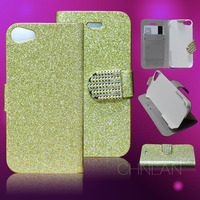 Hot selling shiny powder luxury glitter best quality mobile phone bags & cases for iphone 6