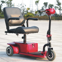 3 wheel electric trike motor scooter for adults DL24250-1 for adult with CE certificate