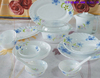 Glass Material and Dinnerware Sets Dinnerware opal dinner se