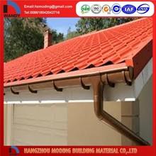 de alta calidad de metal del techo para la lluvia de agua de drenaje de las canaletas