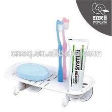 Jabón, cepillo de dientes, composición de pasta de dientes titular& en seco de jabón titular