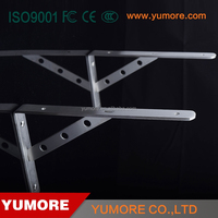 Guangdong stainless steel wall mounting countertop support metal brackets for folower ports&panel