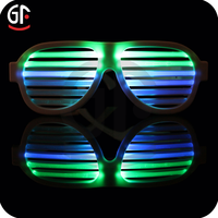 Hot Selling Product 2016 Light Up Glasses Voice Control Best Brand Sunglasses