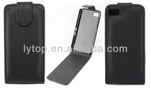 Belt clip pouch flip case for Blackberry Z10, for Blackberry Z10 genuine leather case