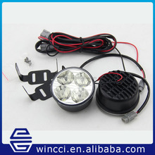 Hot sale universal aluminum DRL Auto car LED daytime running light for all cars