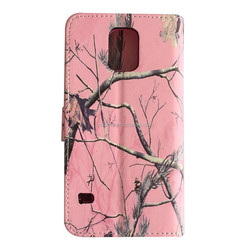 OEM product High quality PU leather wallet case for samsung galaxy s5 i9600